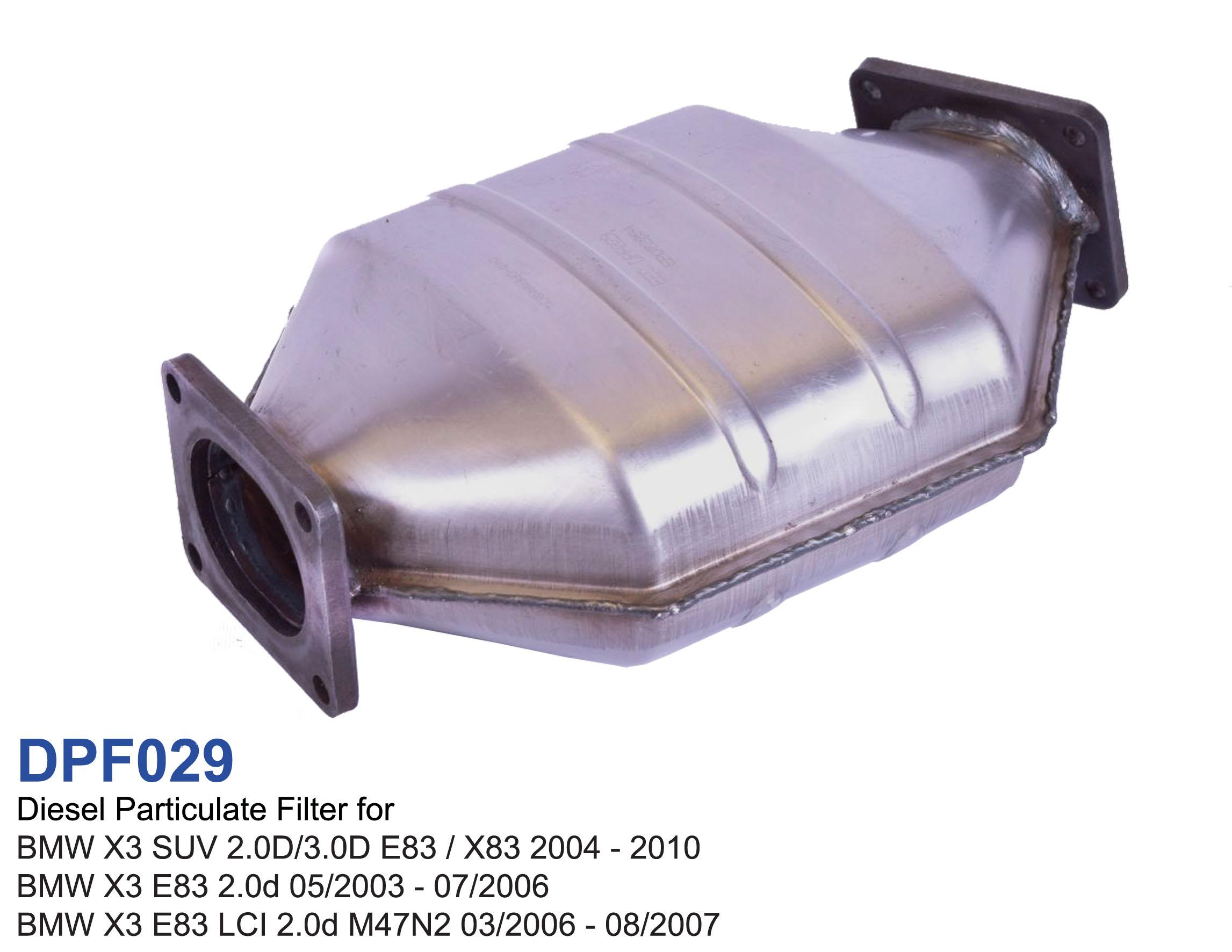 Diesel Particulate Filter For Bmw X3 2 0d 3 0d E83 X83 520d E60 E61 2004 2010 Dpf029